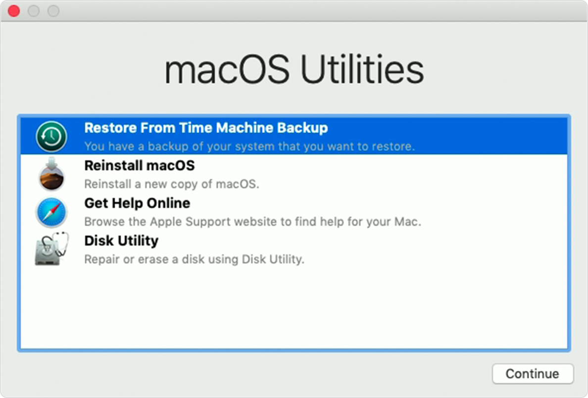 Cómo restaurar tu Mac usando Time Machine