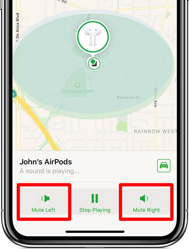 Cómo encontrar tus Airpods perdidos