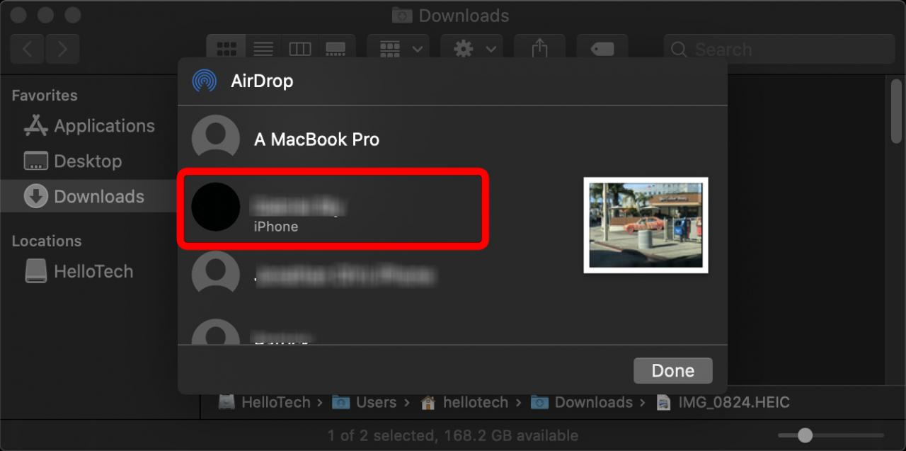 Cómo encender el AirDrop y usarlo en un iPhone y un Mac