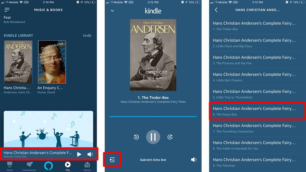 Cómo hacer que Alexa te lea un libro - tercera parte