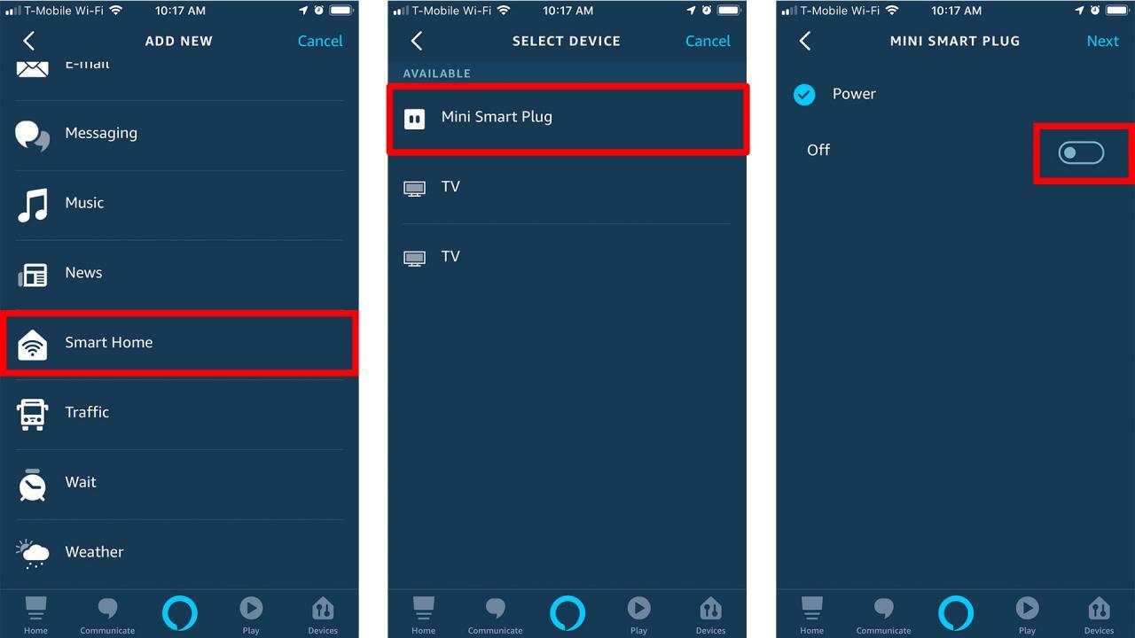 Cómo establecer rutinas en Alexa - Cuarta parte