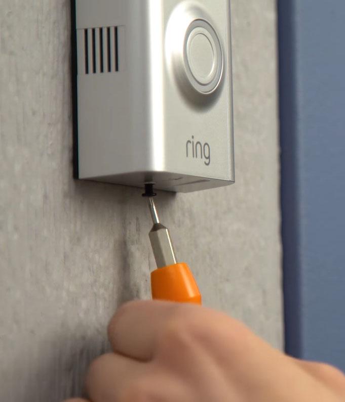 Cómo instalar el Ring Doorbell sin tener un timbre instalado