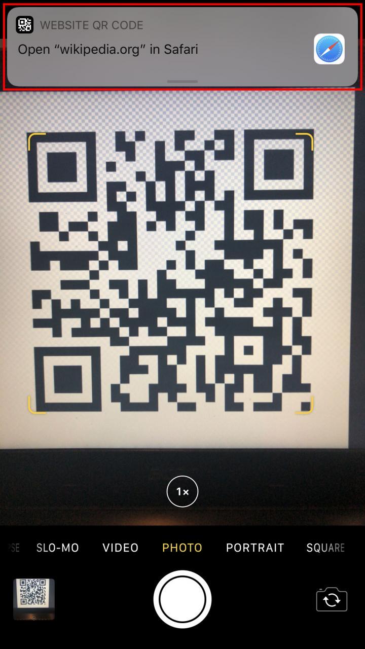 Cómo escanear un código QR en un iPhone o Android