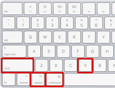 Cómo copiar y pegar en un ordenador Mac