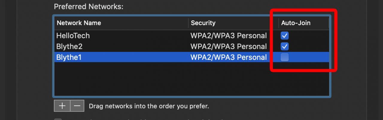Cómo olvidar una red WiFi en un Mac