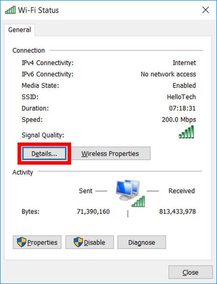 Cómo encontrar la dirección IP de su ordenador en un PC con Windows 10