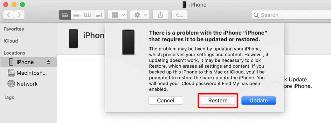 Cómo reiniciar tu iPhone