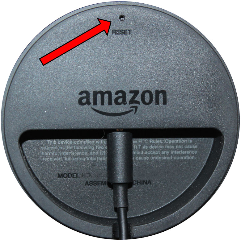 Cómo reiniciar el Echo del Amazonas